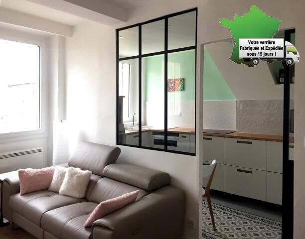 Verriere interieur pas cher 28 images astuces d 233 co for Cloison atelier pas cher