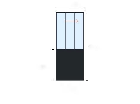 porte atelier battante et coulissante sur mesure. Black Bedroom Furniture Sets. Home Design Ideas